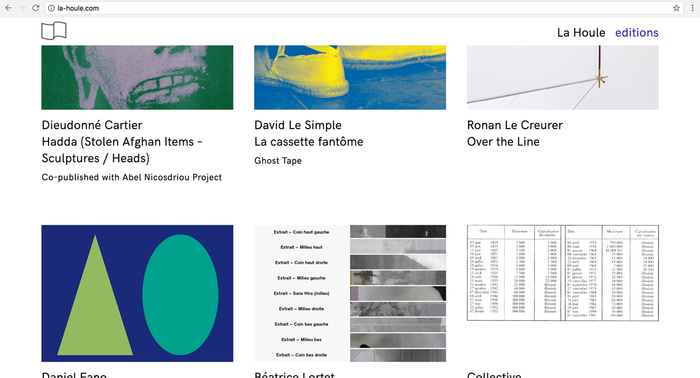 La Houle website 4