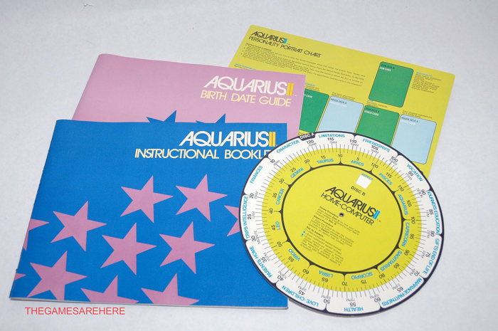 Aquarius II – A Home-Computer Astrology Kit 2