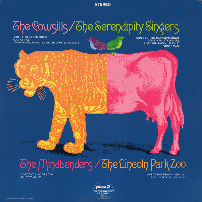 Pickwick Sampler: The Cowsills/ The Serendipity Singers/ The Mindbenders/ The Lincoln Park Zoo