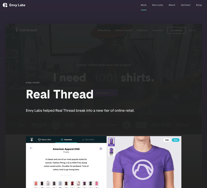 Envy Labs website 5