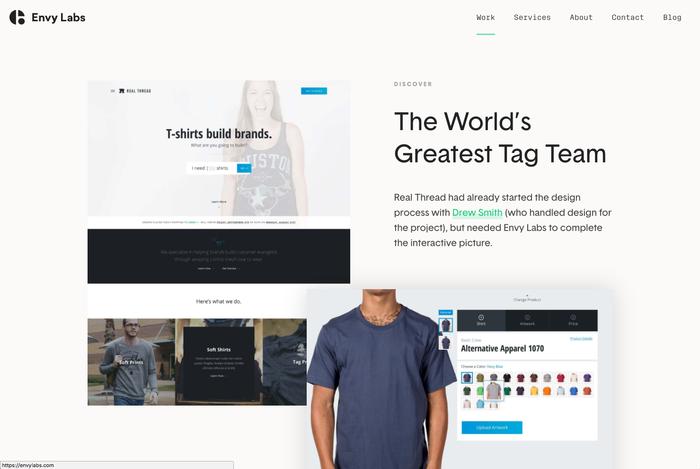 Envy Labs website 7
