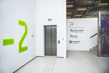 Wayfinding system in Silesian Museum