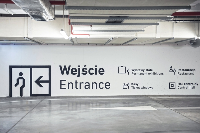 Wayfinding system in Silesian Museum 4