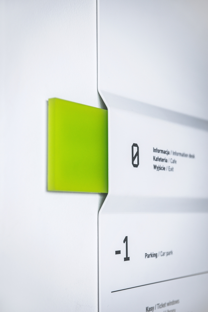 Wayfinding system in Silesian Museum 6