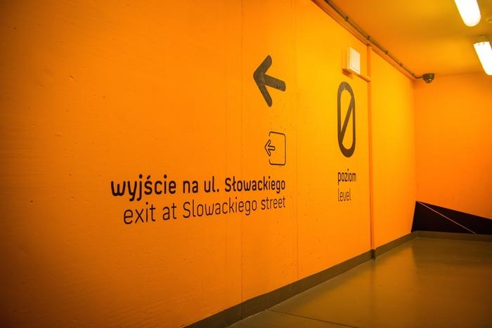 Wayfinding in Galeria Katowicka 2