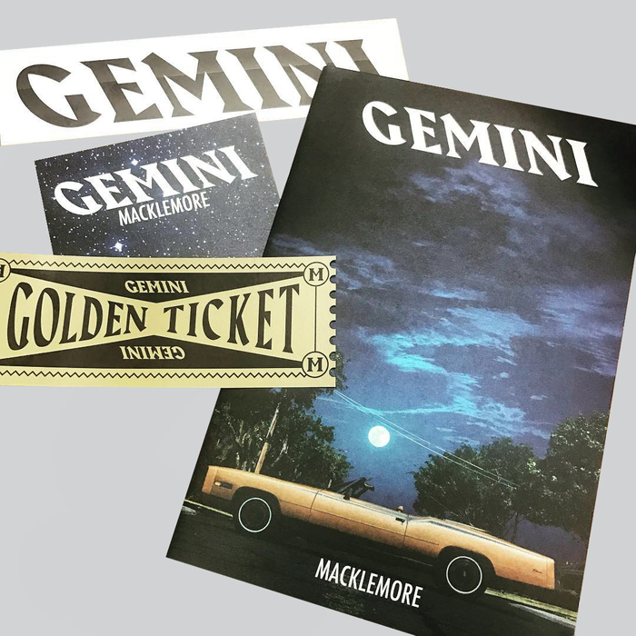 Graphics for Macklemore's Gemini tour 11