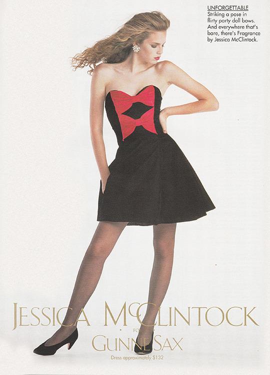 Jessica McClintock ads (1987–91) 6