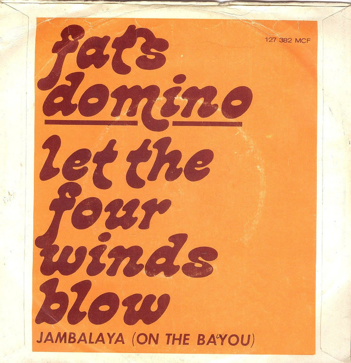 "Fats Domino – ""Let The Four Winds Blow"" / ""Jambalaya (On The Bayou)"" 2"