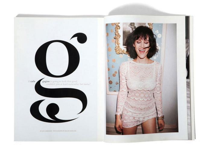 Details magazine: Carla Gugino