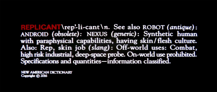 Workprint Opening title.