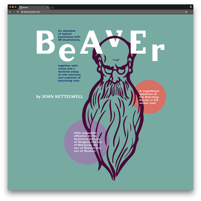 Beaver by John Kettelwell, Pavel Kedich web edition 1