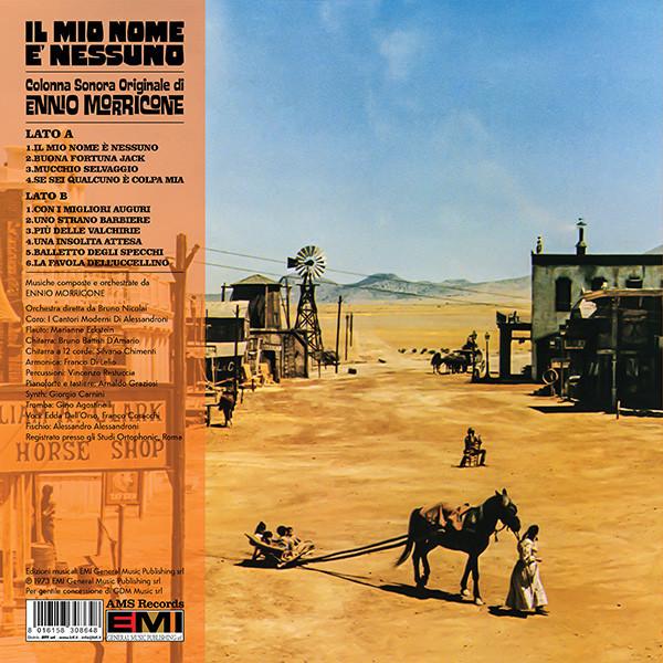 Ennio Morricone – Il mio nome è Nessuno. Colonna Sonora Originale (AMS Records) album art 2