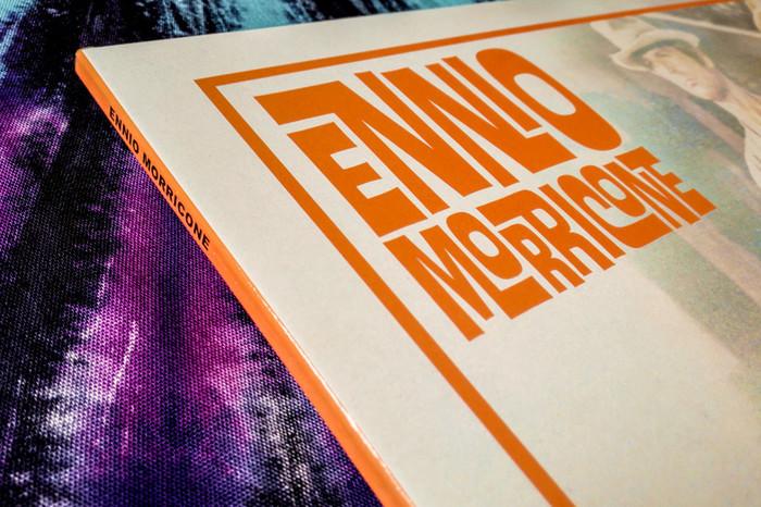 Ennio Morricone – Il mio nome è Nessuno. Colonna Sonora Originale, AMS Records 4