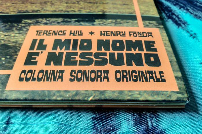 Ennio Morricone – Il mio nome è Nessuno. Colonna Sonora Originale, AMS Records 5