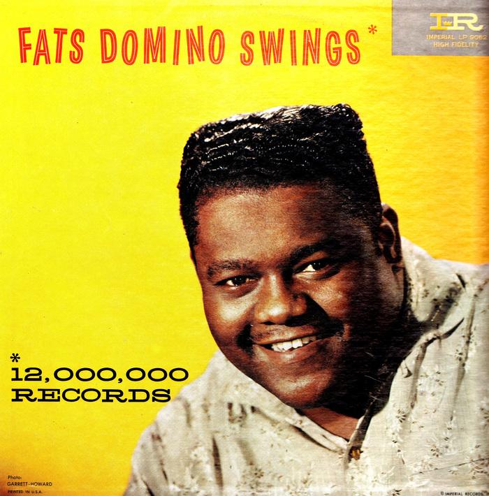 Fats Domino – Fats Domino Swings album art