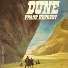 <cite>Dune</cite> by Frank Herbert (Ace Books, 1967 and 1974)