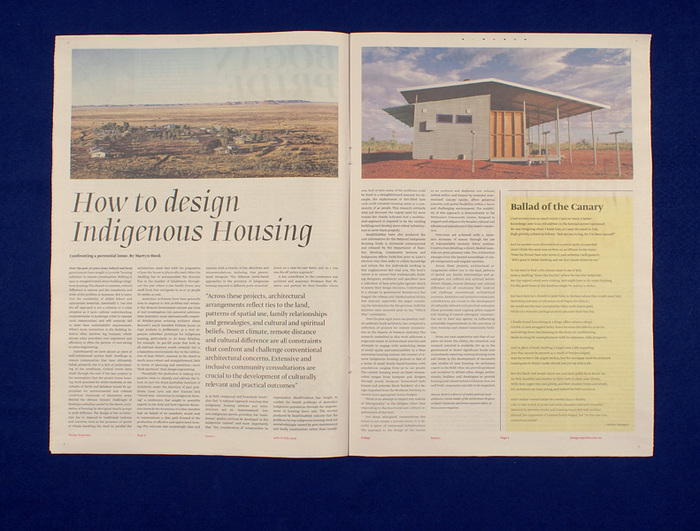 Design Reporter, Australia 4