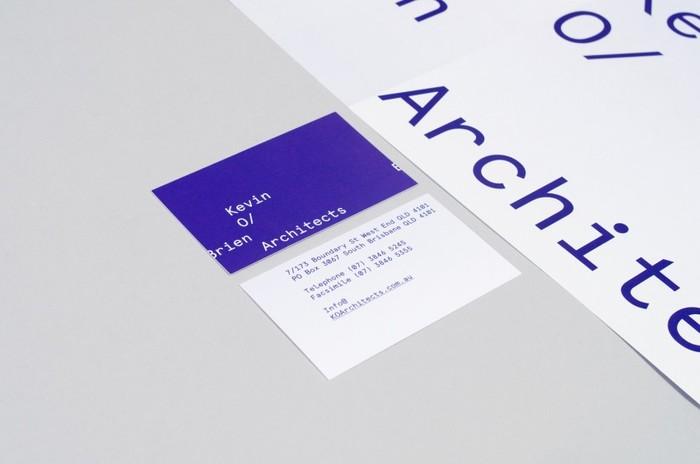 Kevin O'Brien Architects identity 3