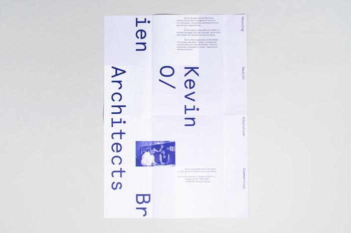 Kevin O'Brien Architects identity 2