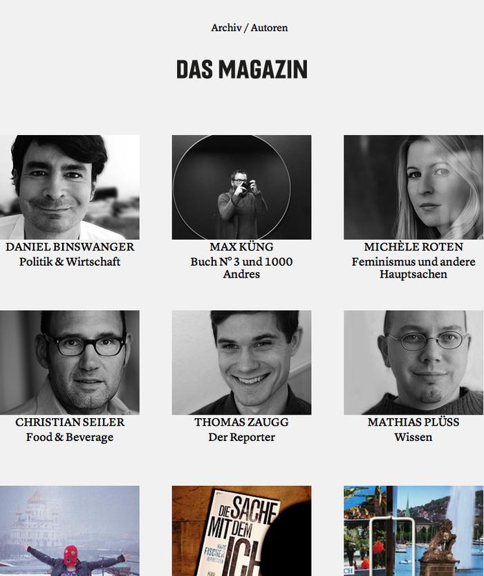 Das Magazin Blog 1
