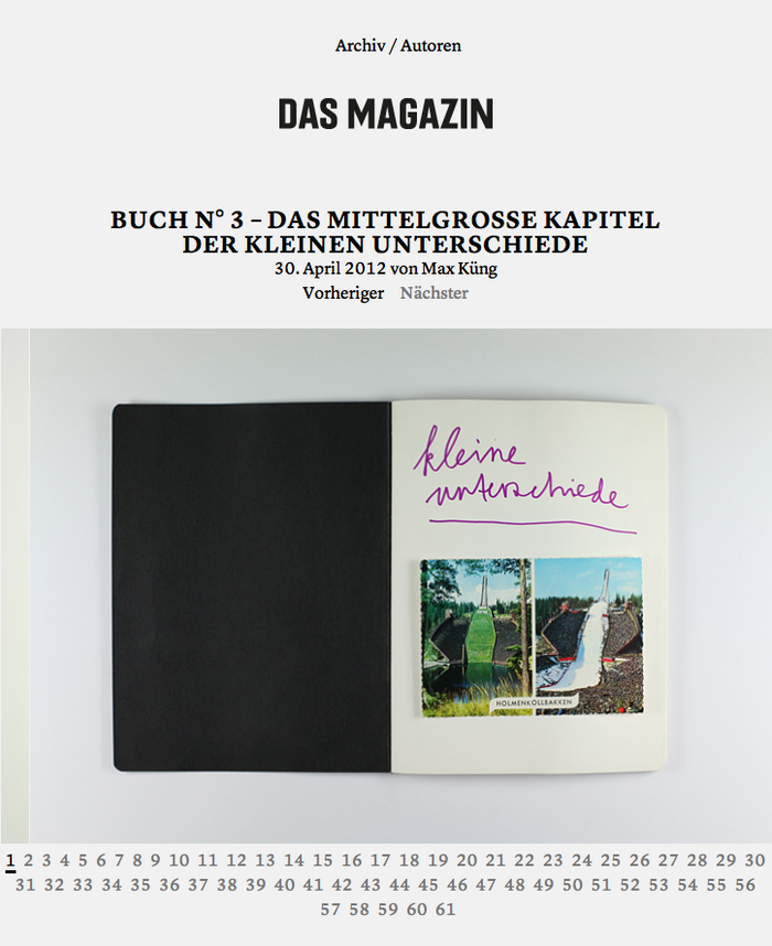 Das Magazin Blog 2
