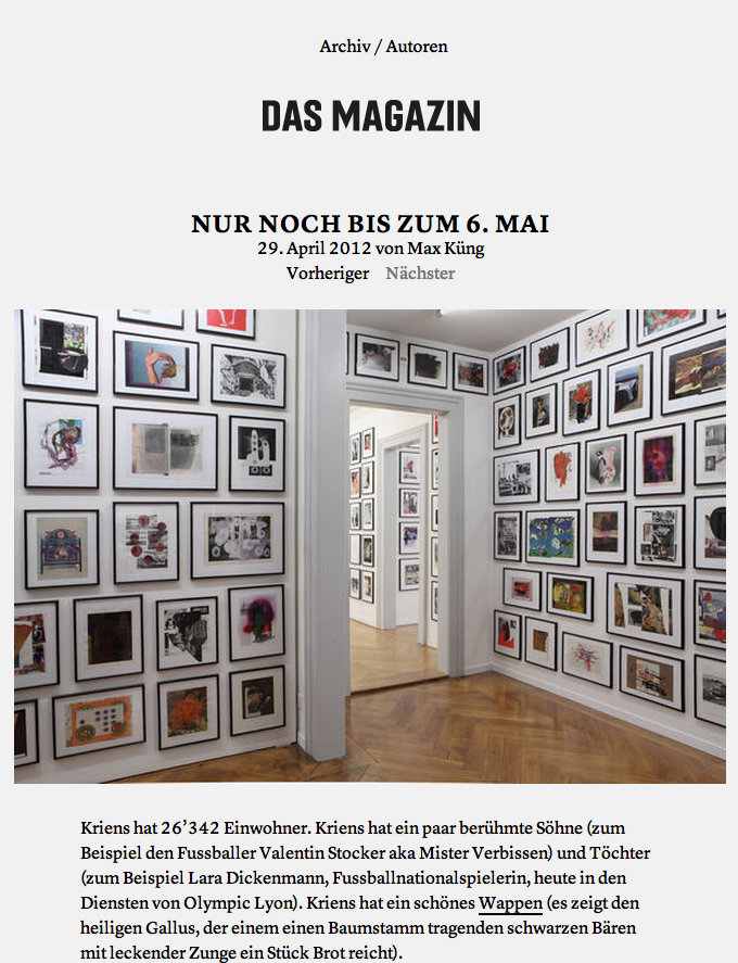 Das Magazin Blog 4