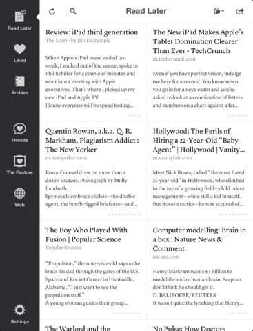 Instapaper iOS App 5