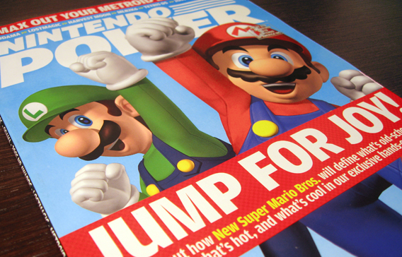 Nintendo Power Magazine, 2005 redesign 3