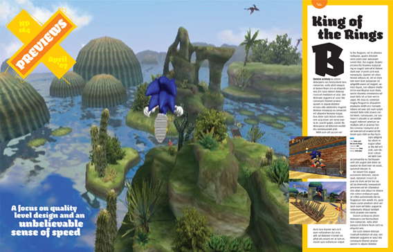 Nintendo Power Magazine, 2005 redesign 5