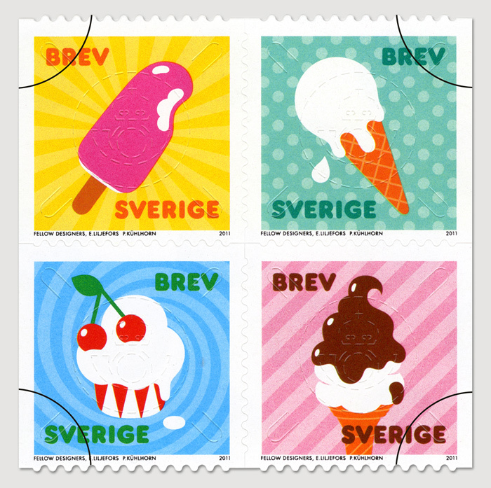 Sweden Summer Stamps 1