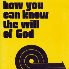 <i>How you can know the will of God</i> book cover
