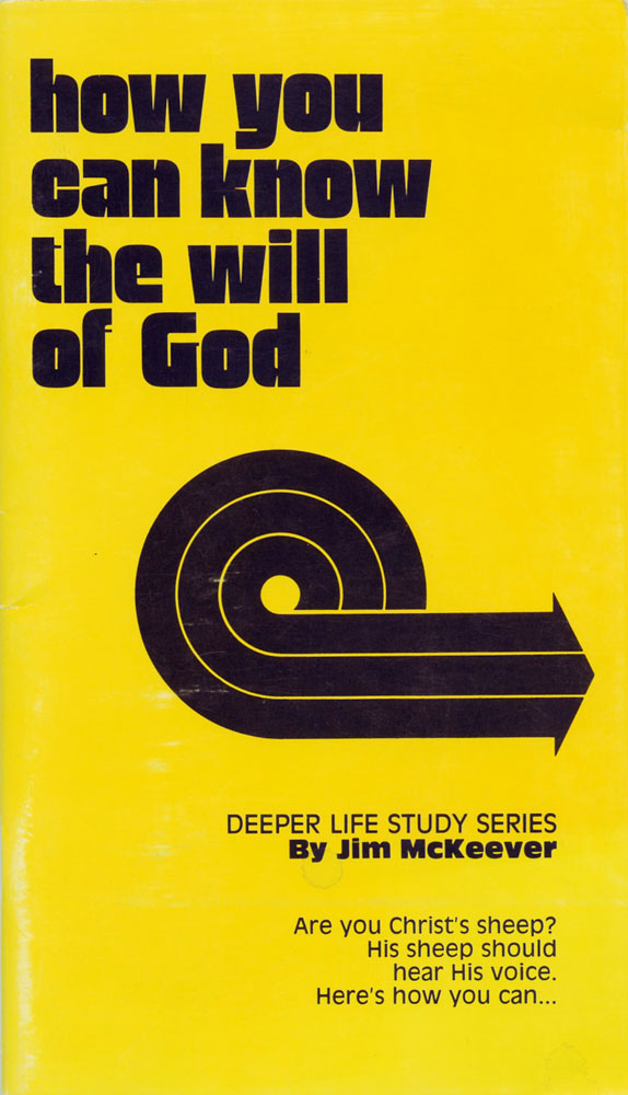 How you can know the will of God book cover