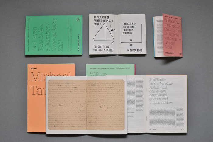 dOCUMENTA (13) notebooks 4