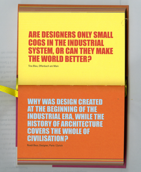 Design in Question Book 4