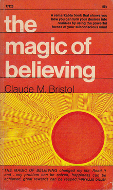 <i>The Magic of Believing</i> book cover