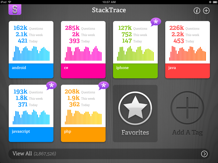StackTrace App 1