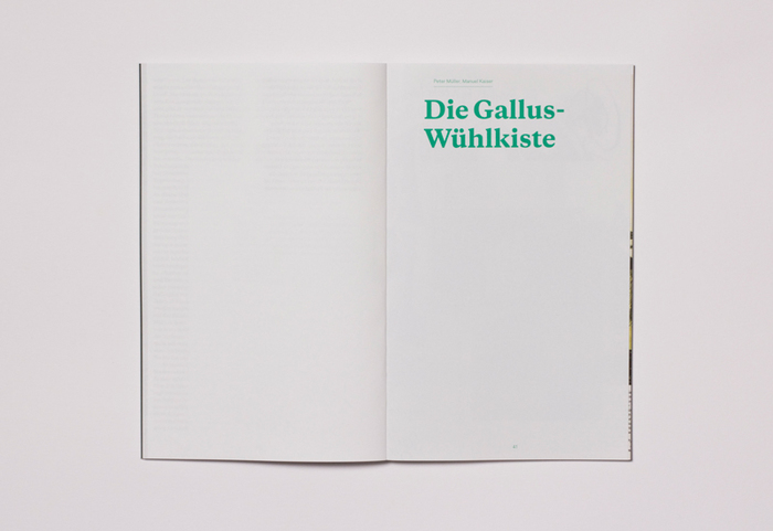 "Typotron booklet ""Gallus & Pretoria"" 1"