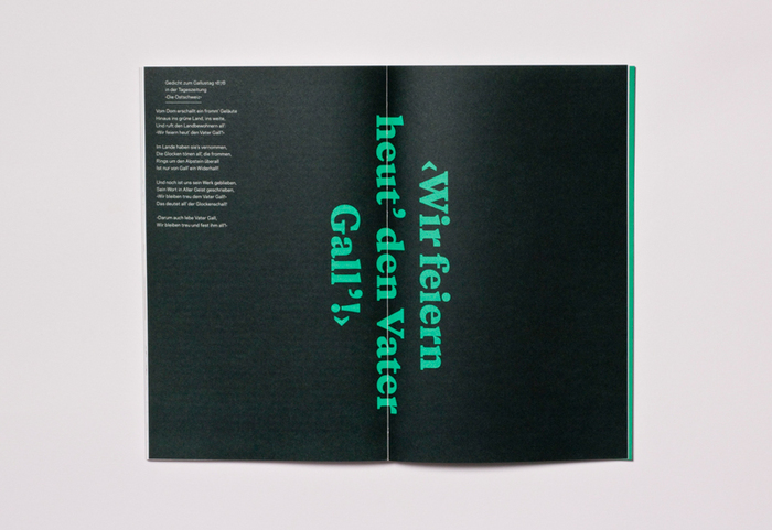 "Typotron booklet ""Gallus & Pretoria"" 4"
