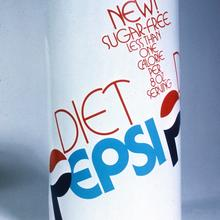 Proposed design for the Diet Pepsi can
