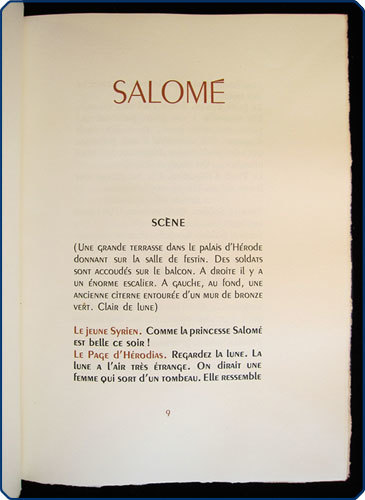 Salome, London & Paris: The Limited Editions Club 2