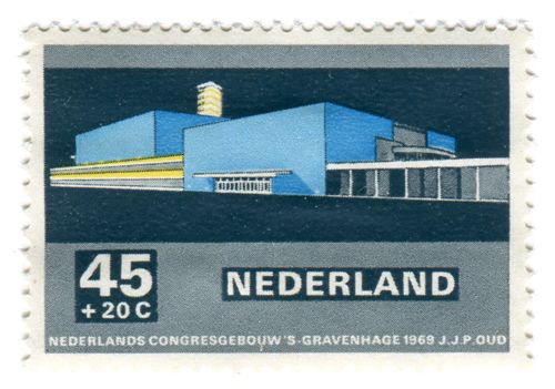 Modern Dutch Architecture Stamps (1969) 5