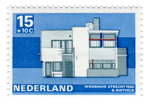 Modern Dutch Architecture Stamps (1969) 4