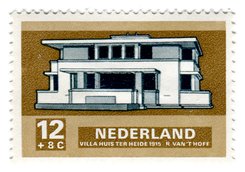 Modern Dutch Architecture Stamps (1969) 3