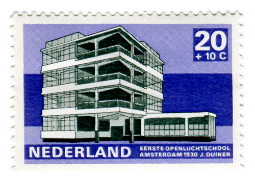 Modern Dutch Architecture Stamps (1969) 2