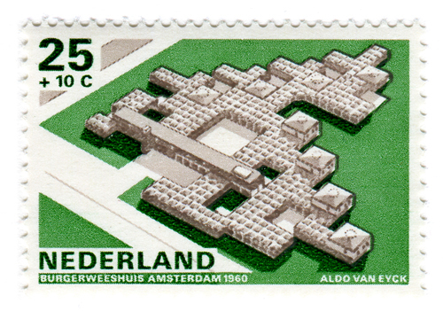 Modern Dutch Architecture Stamps (1969) 6