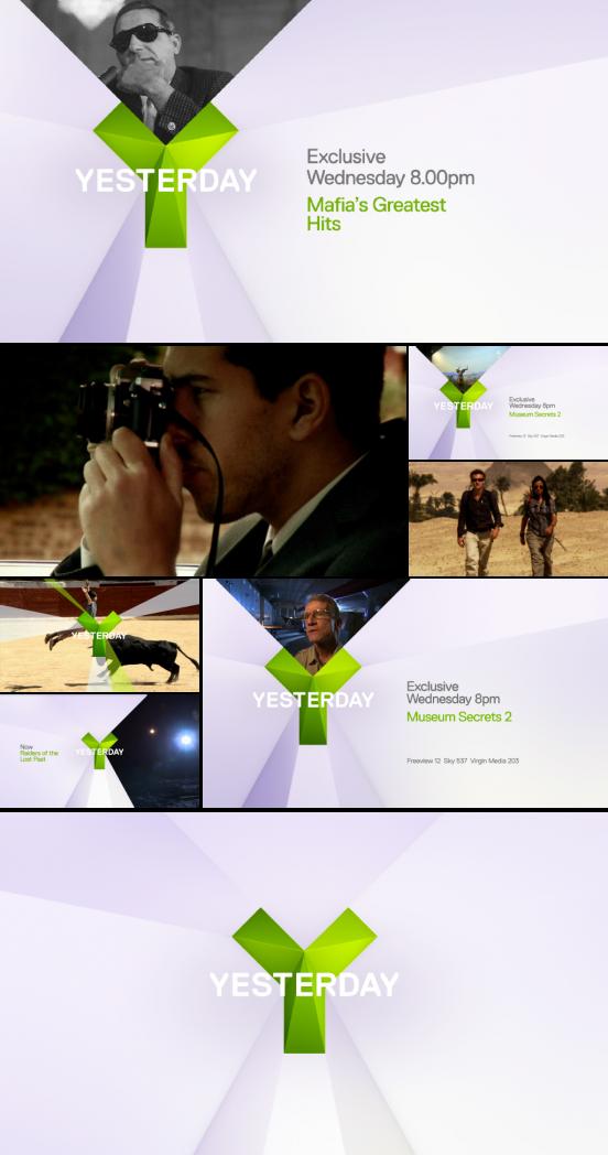 UKTV Yesterday identity 1
