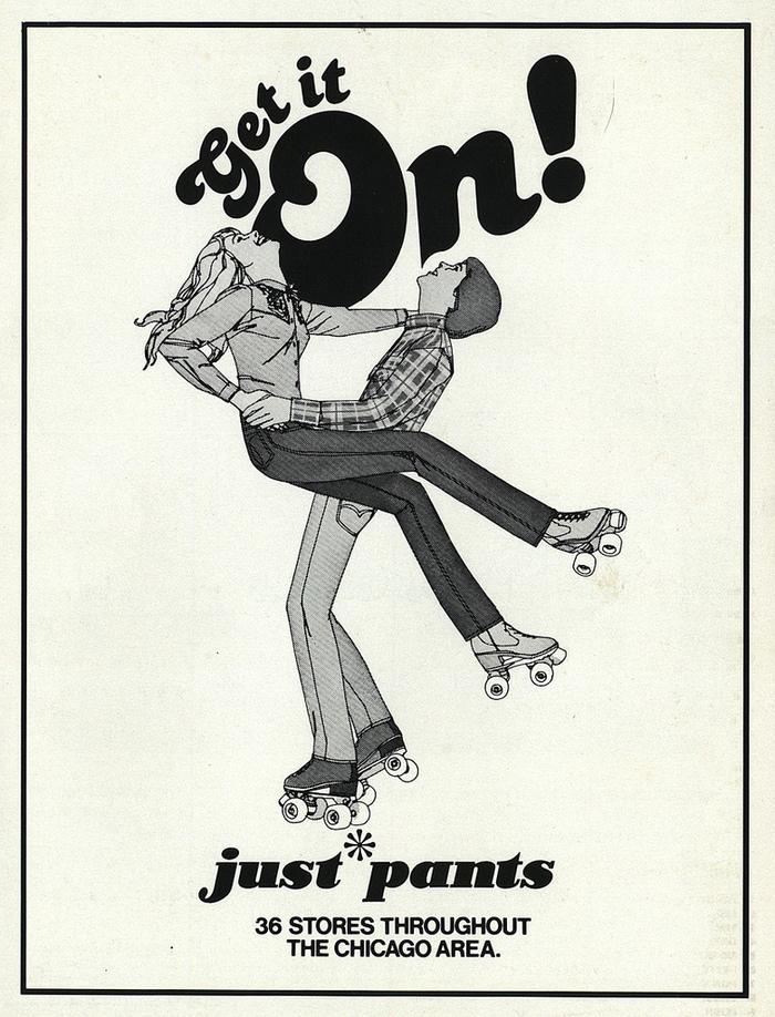Just Pants ad