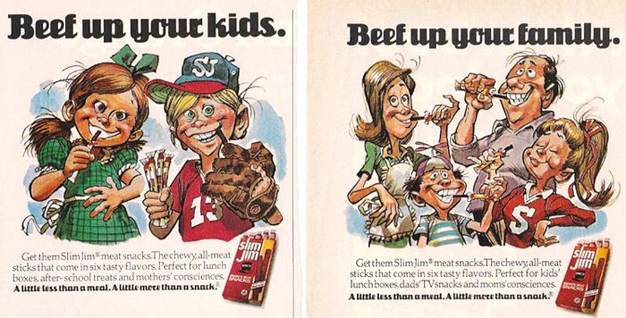 1970s Slim Jim ads 1