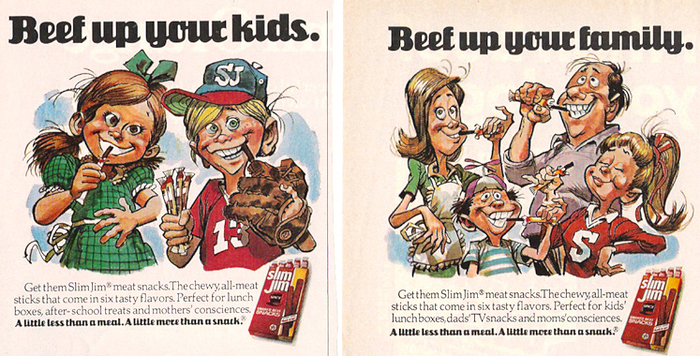 1970s Slim Jim ads 1