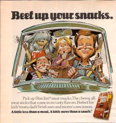 1970s Slim Jim ads 2